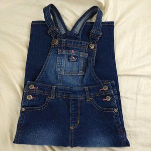Jordache Blue Jean Overalls Distressed Girls Sz 4T